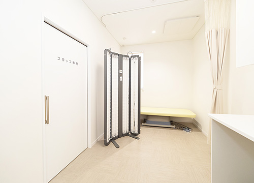 紫外線治療室